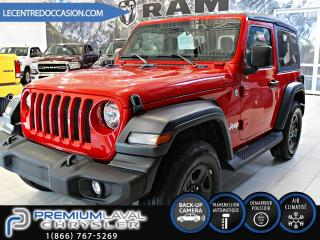 Used 2019 Jeep Wrangler Sport JL/AUTOMATIQUE/AIR CLIMATISÉ for sale in Laval, QC