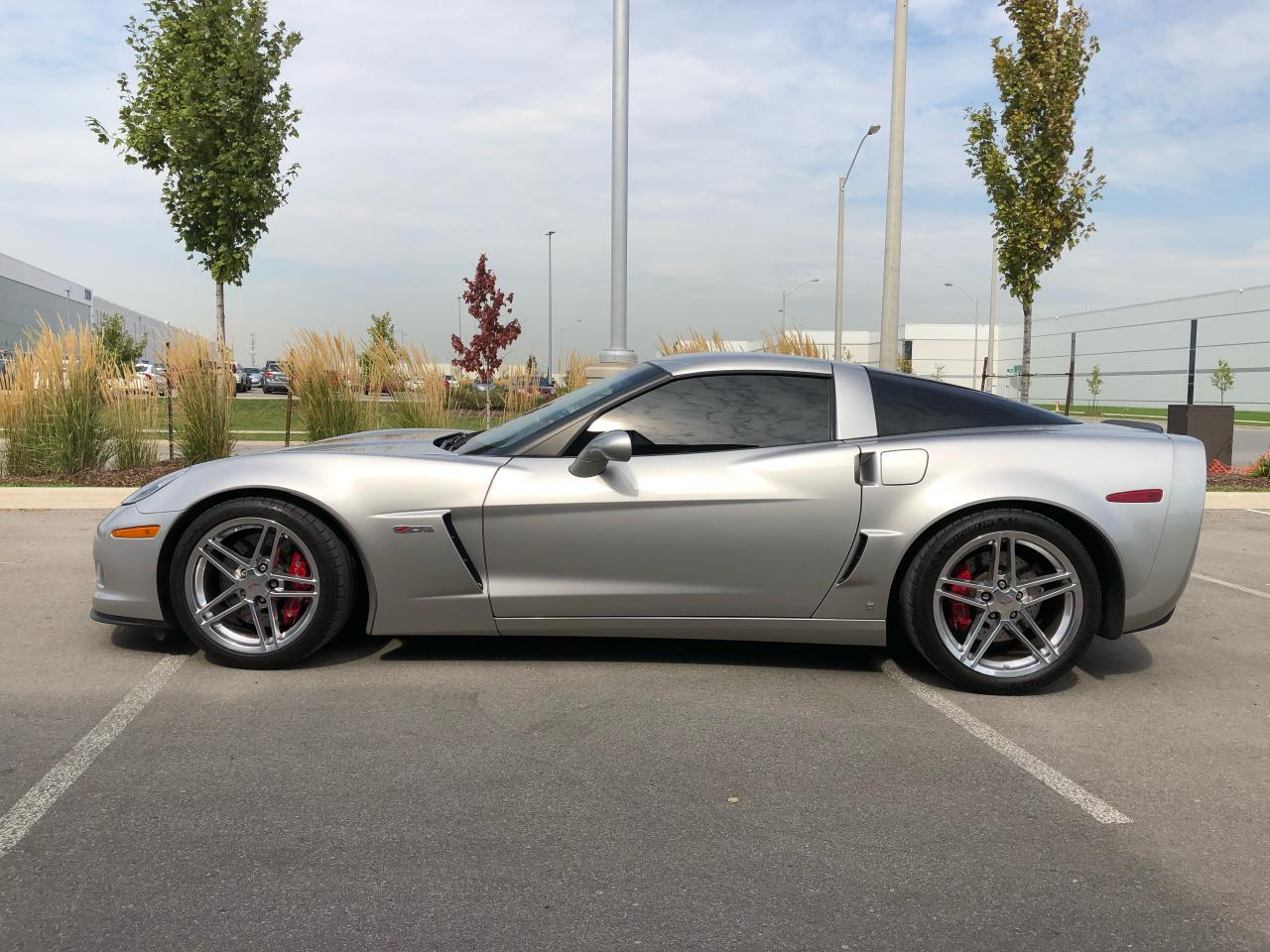 Photo of Silver 2008 Chevrolet Corvette Z06