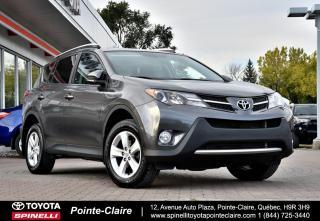 Used 2014 Toyota RAV4 ***RÉSERVÉ***XLE NAVIGATION MAGS, TOIT, GPS, SIÈGES CHAUFFANT for sale in Pointe-Claire, QC