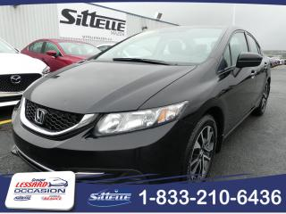 Used 2015 Honda Civic EX / MANUELLE / TOIT OUVRANT for sale in St-Georges, QC