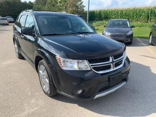 Used 2015 Dodge Journey R/T dvd and remote start for sale in Waterloo, ON