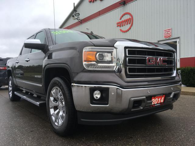 2014 GMC Sierra 1500 SLT , No reported accidents