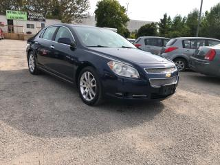 Used 2010 Chevrolet Malibu LTZ for sale in Pickering, ON