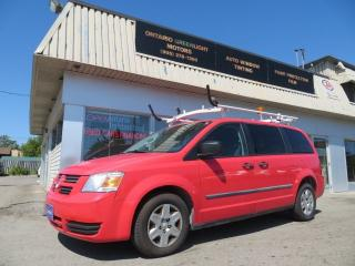 Used 2010 Dodge Grand Caravan SUPER LOW KM,LADDER RACKS,CARGO,SHELVES,DIVIDER for sale in Mississauga, ON