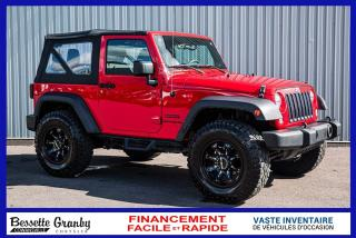 Used 2017 Jeep Wrangler Sport-Lift kit-Pneus tout terrain! for sale in Cowansville, QC