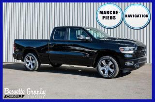 Used 2020 RAM 1500 Sport +Navigation, Capot Sport+ for sale in Cowansville, QC