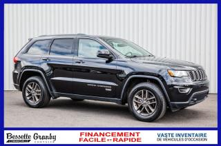 Used 2017 Jeep Grand Cherokee Laredo-75EME ANN for sale in Cowansville, QC