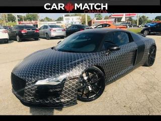 Used 2008 Audi R8 GOYARD WRAP / 6-SPD MANUAL for sale in Cambridge, ON