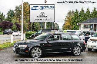 Used 2008 Audi A4 2.0T S-LINE Avant Wagon Quattro 6-Speed Manual! for sale in Surrey, BC