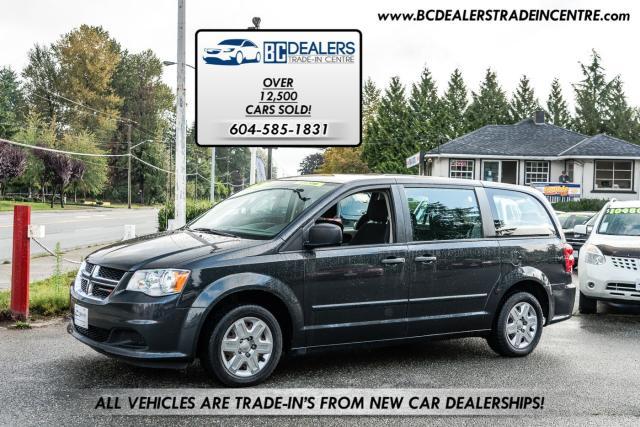 2012 Dodge Grand Caravan SE, Only 124,000km's, Local, 7-Passenger Captain's