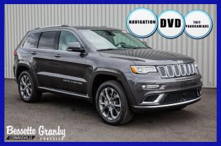 Used 2020 Jeep Grand Cherokee Summit +V8, Platine, DVD, Toit Pano+ for sale in Cowansville, QC