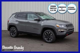 Used 2020 Jeep Compass Trailhawk +Hitch, Temps Froids+ for sale in Cowansville, QC