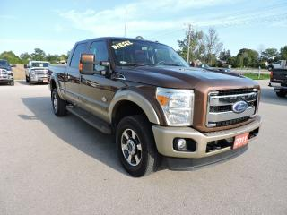 Used 2011 Ford F-350 King Ranch. Diesel. well oiled for sale in Gorrie, ON