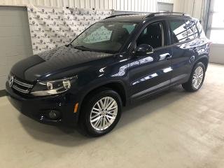 Used 2016 Volkswagen Tiguan SPÉCIAL ÉDITION  4MOTION (TOIT-GPS) for sale in Chicoutimi, QC