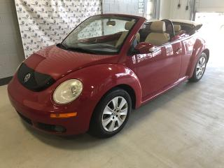 Used 2009 Volkswagen Beetle COMFORTLINE DÉCAPOTABLE for sale in Chicoutimi, QC