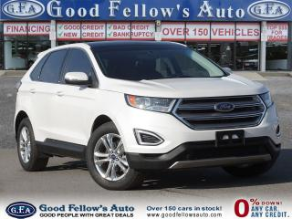 Used 2016 Ford Edge SEL MODEL, REARVIEW CAMERA, PANORAMIC ROOF,2L 4CYL for sale in Toronto, ON