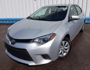 Used 2016 Toyota Corolla LE *HEATED SEATS* for sale in Kitchener, ON