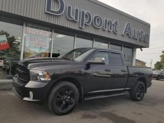 Used 2018 RAM 1500 Express Quad Cab 4x4 caisse de 6 pi 4 po for sale in Alma, QC