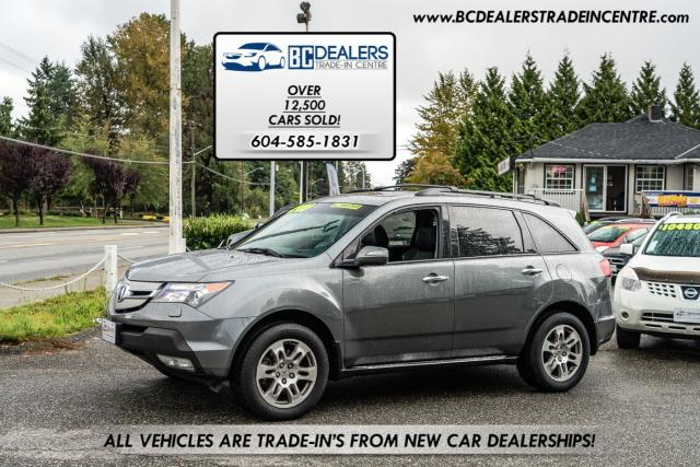 2008 Acura MDX SH AWD, New Bodystyle, Bluetooth, Leather, Clean!