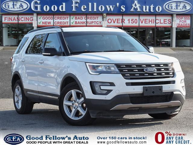 2017 Ford Explorer 4WD, LEATHER SEATS, NAVI, REARVIEW CAMERA, 7PASS