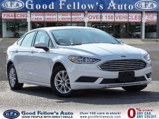Used 2017 Ford Fusion S MODEL, 2.5L 4CYL, REARVIEW CAMERA, BLUETOOTH CON for sale in Toronto, ON