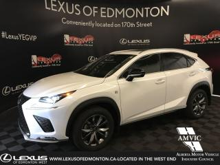 Used 2020 Lexus NX 300 F Sport Series 3 (Offered Until 09.2019) for sale in Edmonton, AB