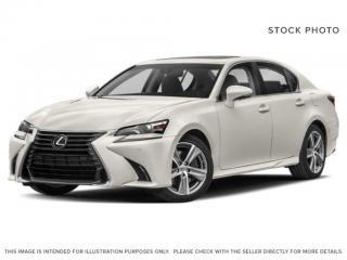 Used 2019 Lexus GS 350 Standard Package for sale in Edmonton, AB