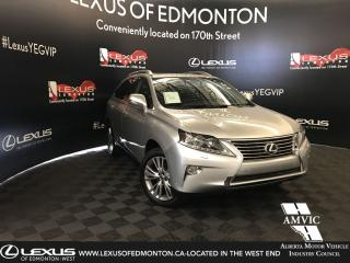 Used 2013 Lexus RX 350 ULTRA PREMIUM 1 for sale in Edmonton, AB
