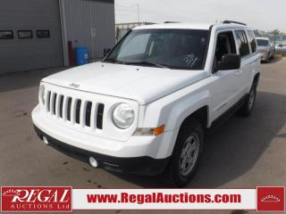 Used 2014 Jeep Patriot North 4D Utility 4WD 2.4L for sale in Calgary, AB