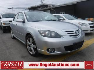 Used 2005 Mazda MAZDA3 Sport GT 4D Hatchback for sale in Calgary, AB