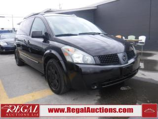 Used 2006 Nissan QUEST  4D WAGON FWD for sale in Calgary, AB