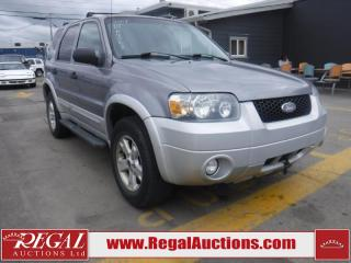Used 2007 Ford Escape XLT 4D Utility AWD for sale in Calgary, AB