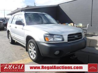 Used 2005 Subaru Forester 4D Utility AWD for sale in Calgary, AB
