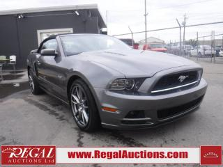Used 2013 Ford Mustang GT 2D Convertible for sale in Calgary, AB