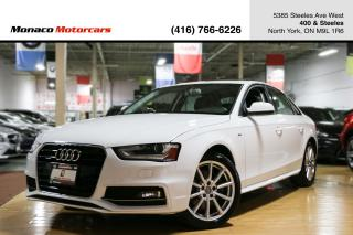 Used 2015 Audi A4 Progressiv Plus - S-LINE|NAVI|BACKUPCAM|SUNROOF for sale in North York, ON
