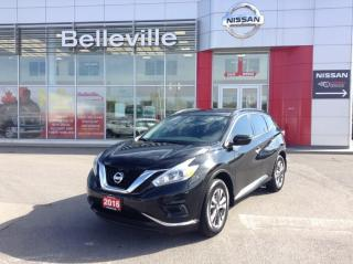Used 2016 Nissan Murano S FWD 1 OWNER LOCAL TRADE HEATED SEATS, NAVIGATION for sale in Belleville, ON