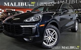 Used 2016 Porsche Cayenne NAVIGATION,PANORAMIC ROOF, HEATED /COOLED SEATS for sale in North York, ON