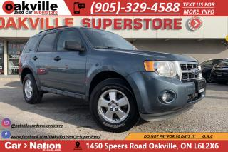 Used 2011 Ford Escape XLT | HTD SEATS | CRUISE | LEATHER | SIRIUS for sale in Oakville, ON