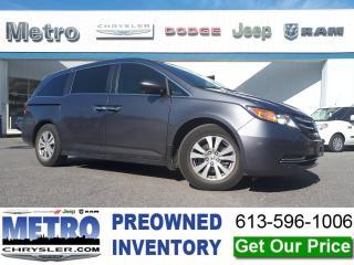 Used 2017 Honda Odyssey EX-L w/Navi for sale in Ottawa, ON