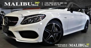 Used 2018 Mercedes-Benz C43 AMG 4MATIC WHITE ON RED ALL OPTIONS for sale in North York, ON