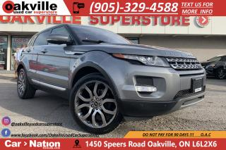 Used 2013 Land Rover Evoque PURE PLUS | PANO ROOF | LEATHER | MERIDIAN | NAV for sale in Oakville, ON