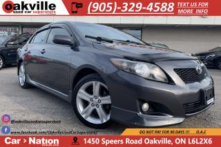 Used 2009 Toyota Corolla XRS   SUNROOF   ALLOYS   AUX   CRUISE for sale in Oakville, ON
