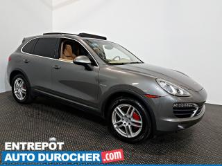 Used 2013 Porsche Cayenne S Hybrid AWD NAVIGATION - Toit Ouvrant - A/C -Cuir for sale in Laval, QC