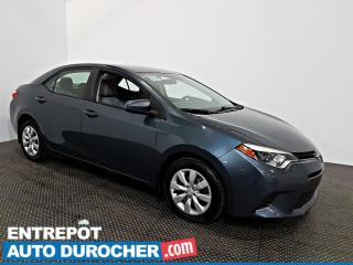 Used 2015 Toyota Corolla LE Automatique - AIR CLIMATISÉ - Caméra de Recul for sale in Laval, QC