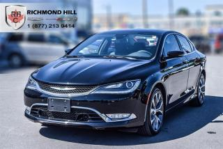 Used 2016 Chrysler 200 C AWD for sale in Richmond Hill, ON