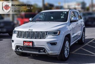 Used 2018 Jeep Grand Cherokee 4X4 Overland All-Season Tires| 20x8-Inch Polished Alum for sale in Richmond Hill, ON