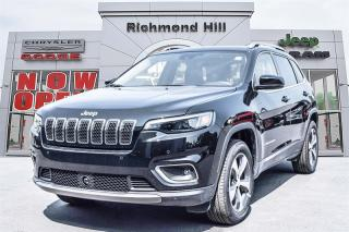 Used 2019 Jeep Cherokee 4x4 Limited Limited 4x4 Spring Special|Uconnect 4c for sale in Richmond Hill, ON