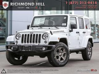 Used 2018 Jeep Wrangler JK UNLIMITED GOLDEN EAGLE 4X4 for sale in Richmond Hill, ON
