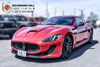 Used 2015 Maserati GranTurismo MC Centennial for sale in Richmond Hill, ON