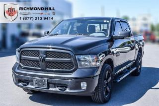 Used 2018 RAM 1500 Crew Cab 4X4 BIG HORN BLACK PACKAGE / Eco Diesel for sale in Richmond Hill, ON